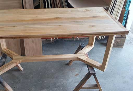 Table moderne en bois